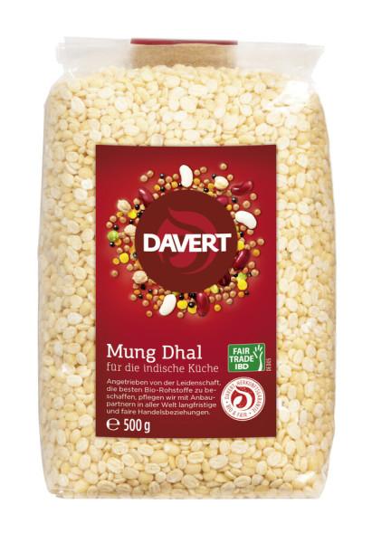 Davert Mung Dhal Fair Trade IBD 500g