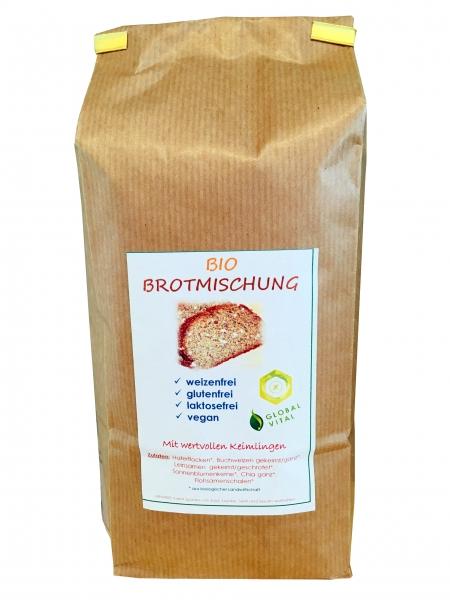 Global Vital BrotBackmischung mit KEIMLINGEN, 1000g
