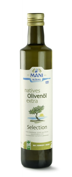 MANI® MANI natives Olivenöl extra, Selection, bio, NL Fair