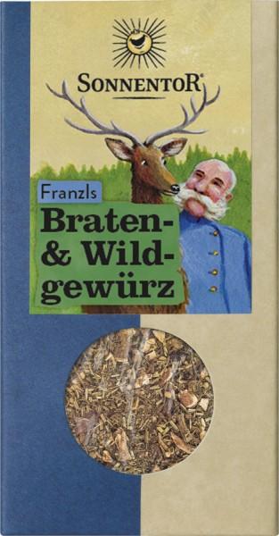 Sonnentor Franzls Braten- und Wildgewürz Seasoning, Packung