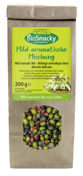 Rapunzel Mild-aromatische Mischung bioSnacky