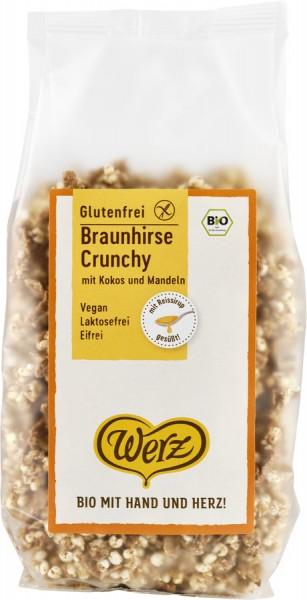 Naturkornmühle Werz Braunhirse Crunchy, Vollkorn Knuspermüsli mit 29% Braunhirse, glutenfrei