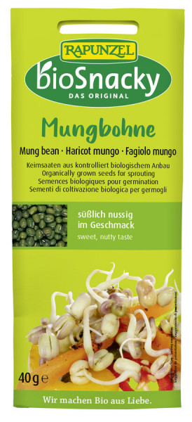 Rapunzel Mungbohne bioSnacky