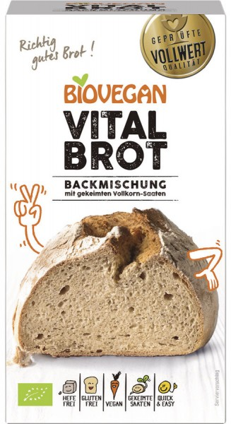 Biovegan Brotbackmischung Vital, BIO