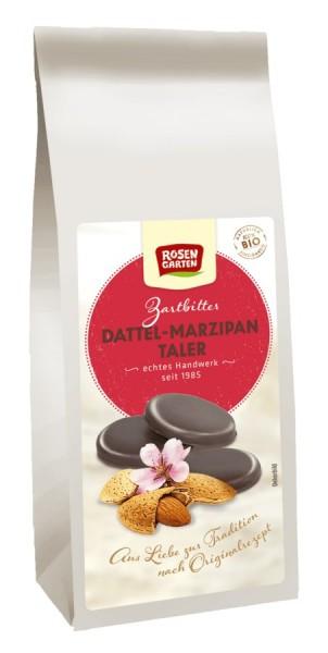 Rosengarten Zartbitter-Dattel-Marzipan-Taler