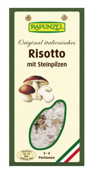 Rapunzel Risotto mit Steinpilzen