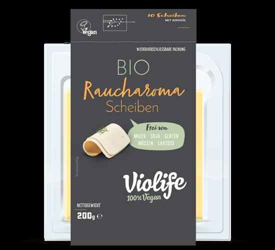 """VIOLIFE Käse Scheiben """"RAUCHGESCHMACK"""" 200g"""