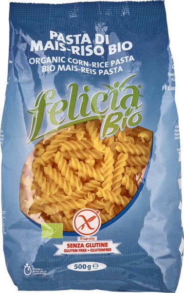 Felicia Felicia Bio Mais-Reis Fusilli glutenfrei 500g