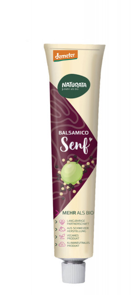 NATURATA Balsamico Senf in der Tube
