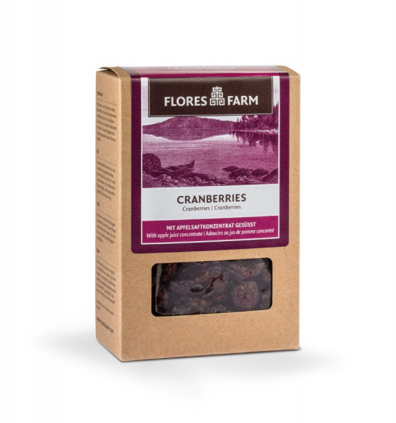 Flores Farm Premium Bio Cranberries