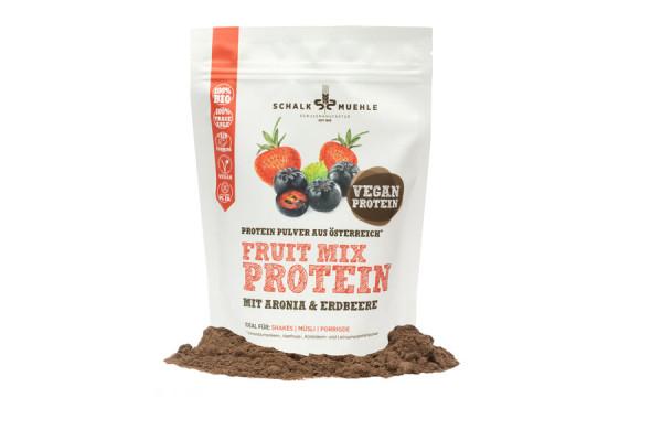 Schalk Mühle Bio Fruit Mix Protein Mix mit Aronia und Erdbeere