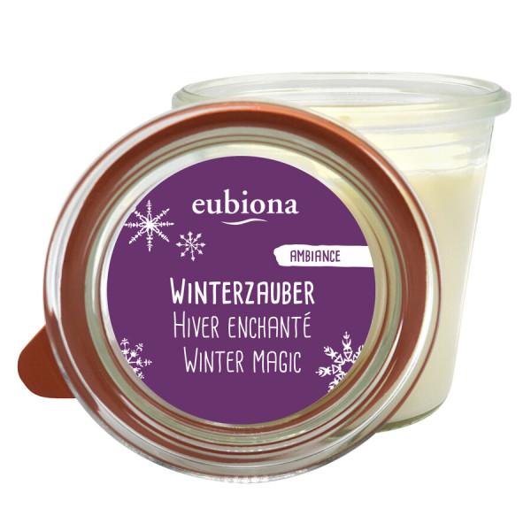 """Eubiona Duftkerze im Glas """"Winterzauber"""""""