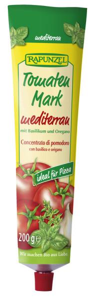 Rapunzel Tomatenmark Mediterran in der Tube
