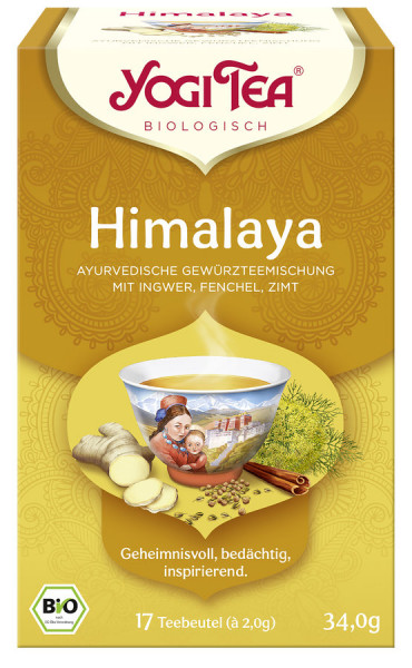 Yogi Tea®, Yogi Tea GmbH Yogi Tea® Himalaya Bio