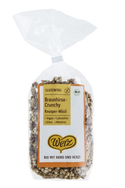 naturkorn mühle Werz Braunhirse-Crunchy, Knusper-Müsli, glutenfrei