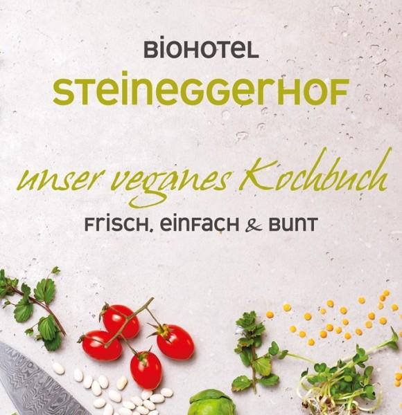 Biohotel STEINEGGERHOF's veganes Kochbuch
