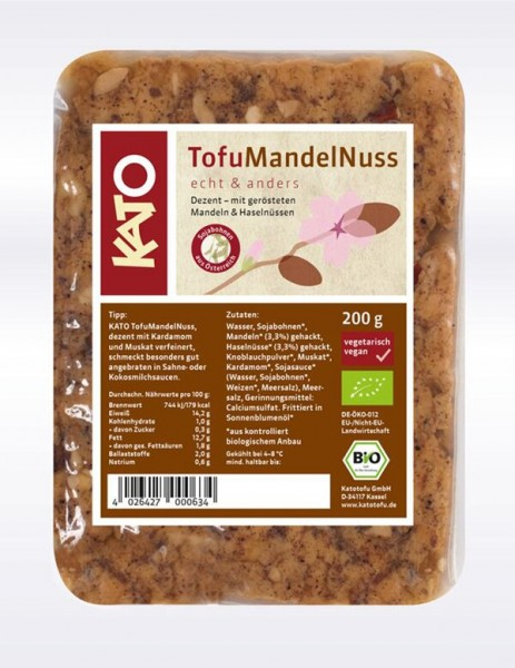 Kato Tofu Mandel Nuss, 200g