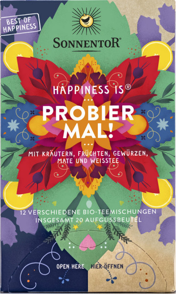 Sonnentor Happiness is® Probier mal!, Beutel