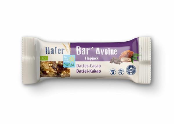 Pural Hafer Bar Riegel Dattel-Kakao glutenfrei