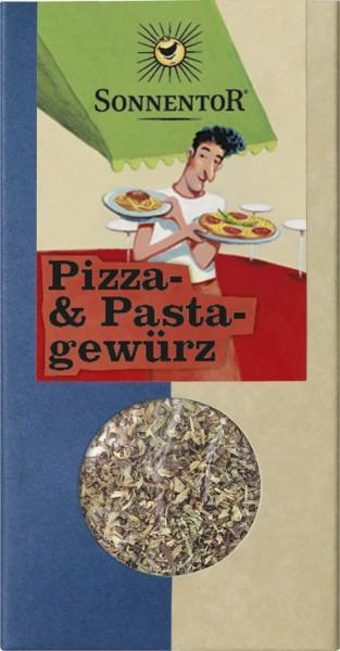 Sonnentor Pizza- und Pastagewürz, Packung