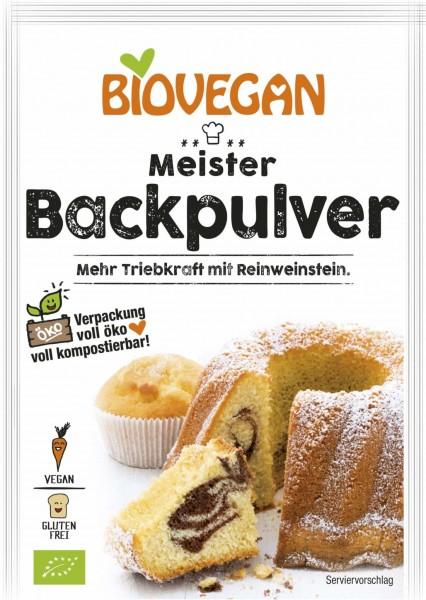 Biovegan MEISTER Backpulver, 3x17g