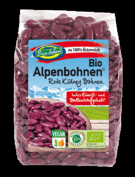 Bioleben Alpenbohnen Rote Kidney, 250g