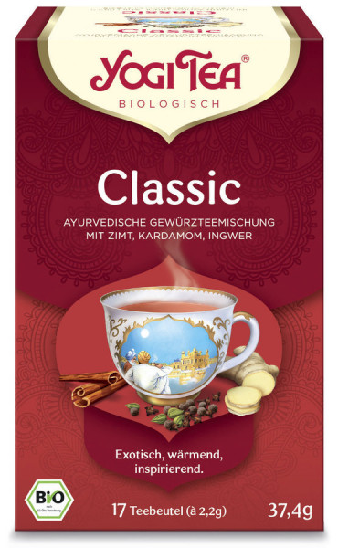 Yogi Tea®, Yogi Tea GmbH Yogi Tea® Classic Bio