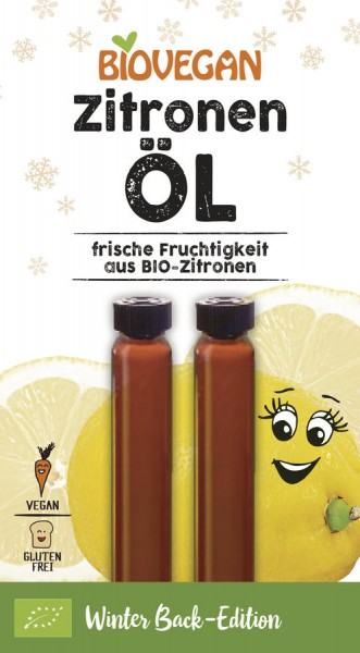 Biovegan Zitronen Öl, Bio