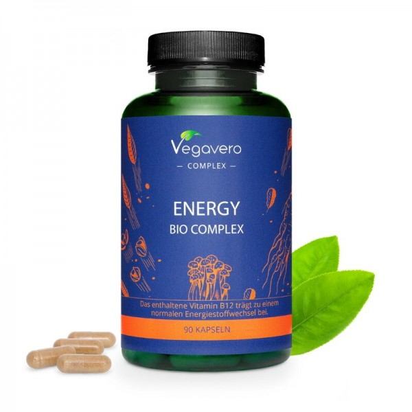 Vegavero Energy Bio Complex, 90 Kapseln