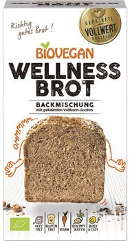 Biovegan Brotbackmischung Wellness, 320g