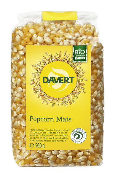 Davert Popcorn Mais 500g