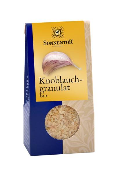 Sonnentor Knoblauch granuliert bio Packung