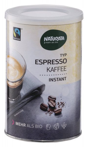 NATURATA Espresso Bohnenkaffee, instant, Dose