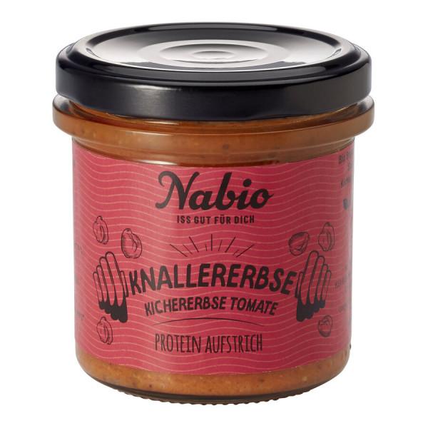 Nabio Nabio Protein-Aufstrich Knallererbse Kichererbse Tomate