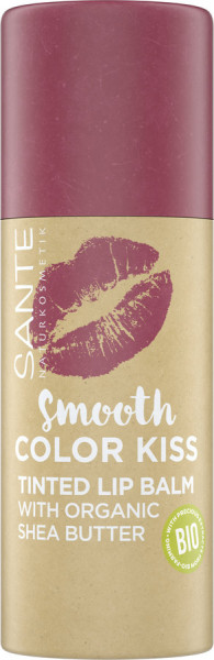 Sante Smooth Color Kiss 02 Soft Red 2021
