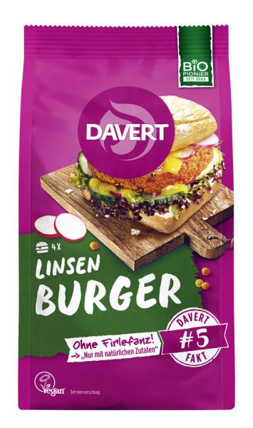 Davert Linsen Burger 160g