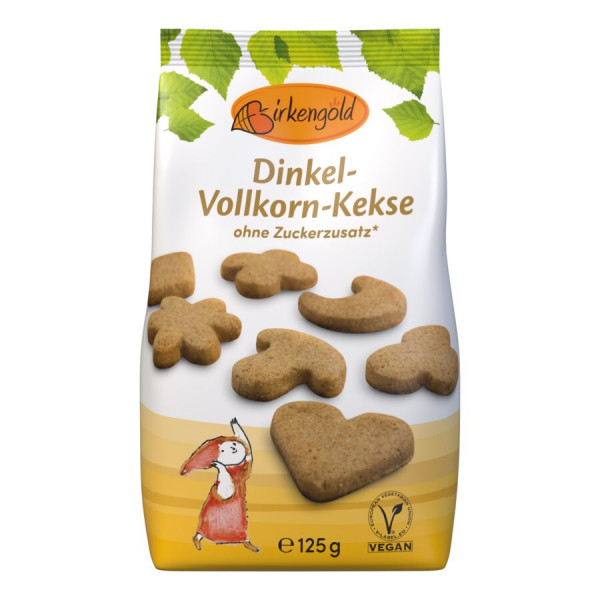 Birkengold Birkengold Dinkel-Vollkorn-Kekse