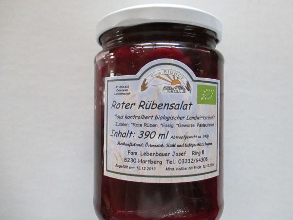 Lebenbauer Roter Rübensalat (Steiermark), 390 ml
