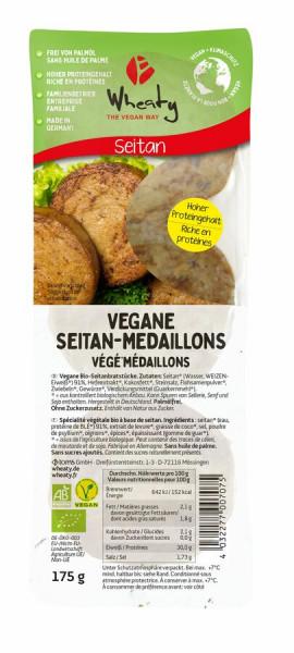 Wheaty Wheaty Vegane Seitan-Medaillons