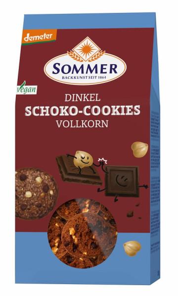 SOMMER Demeter Dinkel Schoko Cookies, Vollkorn