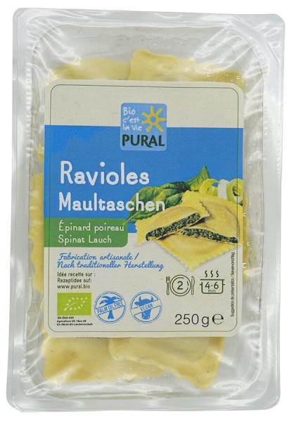 Pural Maultaschen Spinat-Lauch