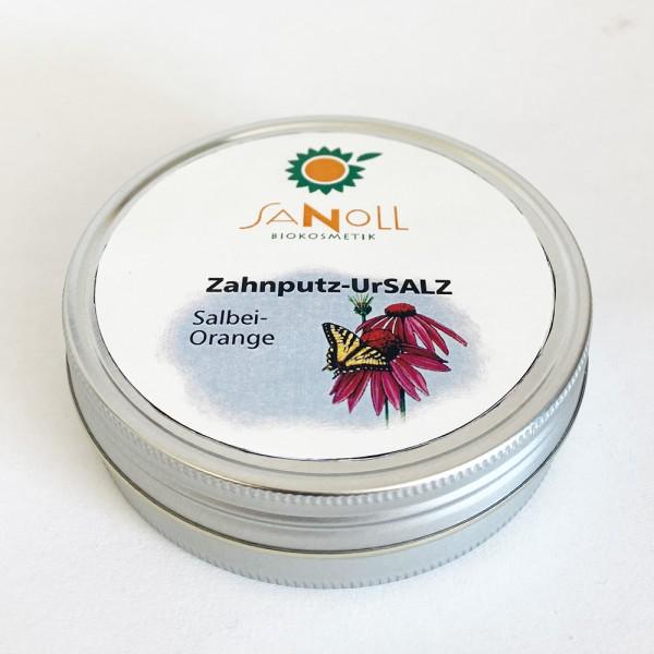Sanoll Zahnputz-Ursalz SALBEI-ORANGE, 50g