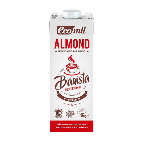 EcoMil EcoMil Bio Mandeldrink Barista (Zuckerarm)