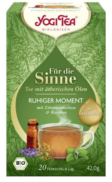 Yogi Tea® , Yogi Tea GmbH Yogi Tea® Für die Sinne Ruhiger Moment Bio