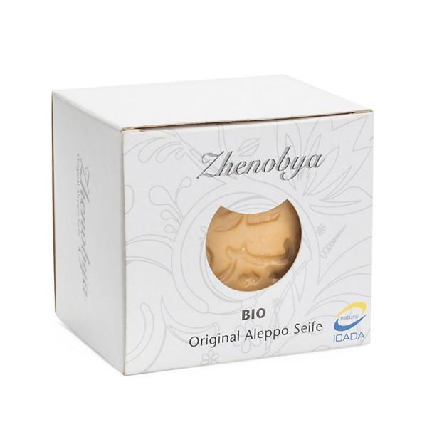 Zhenobya Olivenöl Alepposeife, 200g