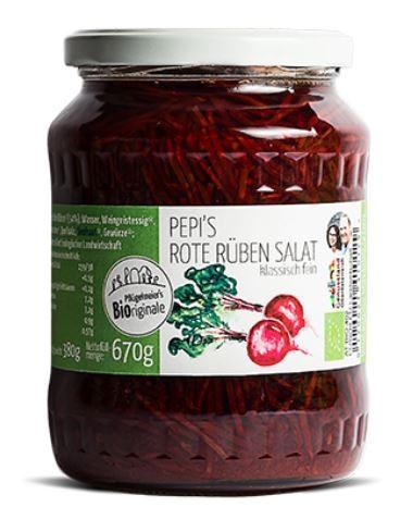 Pflügelmeier Pepi's Rote Rüben Salat, 670g