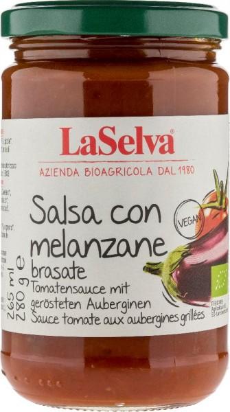 La Selva Tomatensauce mit gerösteten Auberginen, 280g