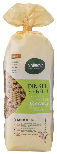 NATURATA Spirelli, Dinkel hell