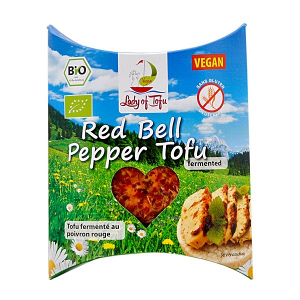 Lord of Tofu RED BELL Pepper, 130g