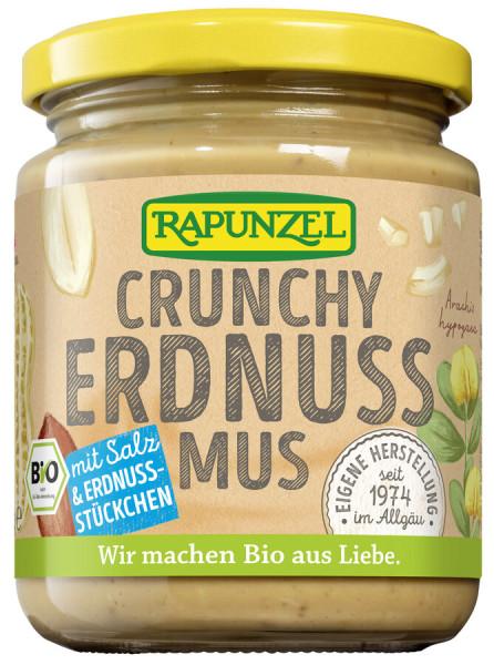 Rapunzel Erdnussmus Crunchy mit Salz